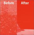 期間をおいてしまった頑固な雨ジミやイオンデポジットは、専用の除去剤をお使いいただくことで簡単で楽な作業で除去できます。 title=従来のGT-C同様、汚れや雨ジミも水洗いで簡単に除去できます。